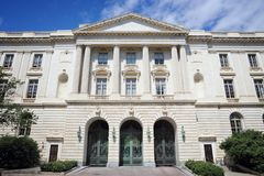 U S senaat royalty-vrije stock afbeelding