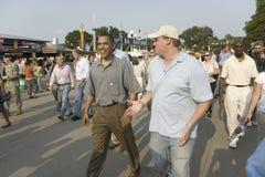 U.S. Senador Barak Obama Fotos de archivo libres de regalías