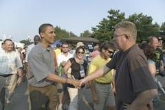 U.S. Senador Barak Obama Imagen de archivo libre de regalías