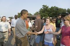 U.S. Senador Barak Obama Fotografía de archivo libre de regalías