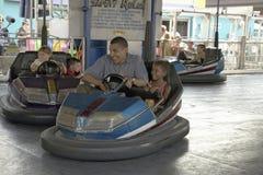U.S. Senador Barak Obama que conduce el coche de parachoques Fotos de archivo libres de regalías