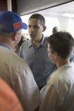 U.S. Senator Barak Obama Arkivfoton