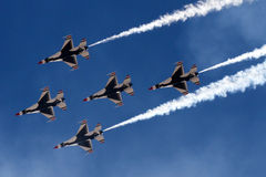 U S Show aereo dell'aeronautica in Tucson, Arizona Immagine Stock