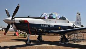 U S Siły Powietrzne T-6 teksańczyk II zdjęcie royalty free