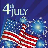 U.S. Självständighetsdagen Royaltyfri Fotografi