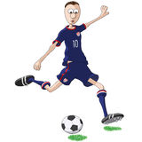 U S soccer player Stock Photos