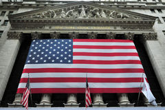 U.S. Stock Market Takes a Dive After S&P Downgrade Stock Photo