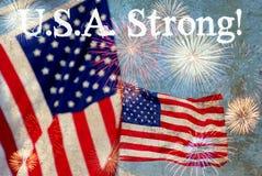 U.S.A. Strong Stock Photos