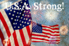 U.S.A. Strong Stock Photos