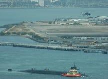 U.S. Submarino del misil balístico Imagenes de archivo