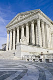 U.S. Supreme Court. Supreme court captured on a sunny winter day royalty free stock image