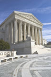 U.S. Supreme Court. Supreme court captured on a sunny winter day Royalty Free Stock Photos