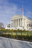 U.S. Supreme Court. Supreme court captured on a sunny winter day Royalty Free Stock Photo