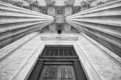 U.S. Supreme Court Entrance Royalty Free Stock Image