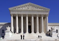 U.S. Supreme Court - Steps of Justice Stock Photos