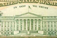 U.S. Tesouraria Foto de Stock Royalty Free