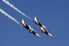 U.S. Thunderbirds da força aérea Fotografia de Stock Royalty Free