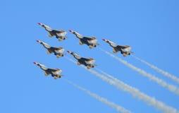 U S Thunderbirds da força aérea Imagem de Stock Royalty Free