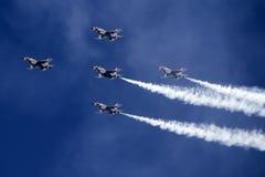 U.S. Thunderbirds dell'aeronautica Fotografia Stock Libera da Diritti