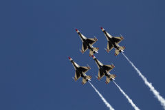 U.S. Thunderbirds dell'aeronautica Immagine Stock