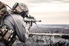 U S Tireur isolé d'armée photo libre de droits