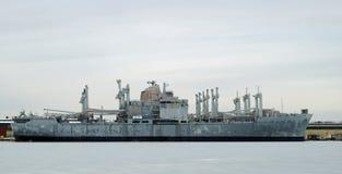U.S. USS för marinattacklastfartyg mobil Royaltyfri Fotografi