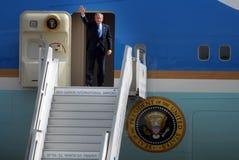 U.S. Visita de presidente George W. Bush a Israel imágenes de archivo libres de regalías