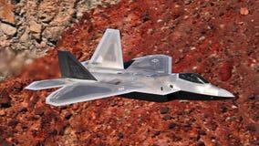 U S Voo do jato do Joint Strike Fighter da força aérea F-35 (relâmpago II) foto de stock royalty free