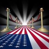 U.S.A. Voto americano di elezione di festival della star di cinema Immagini Stock Libere da Diritti