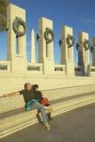 U.S. Weltkrieg-Denkmal Stockfotografie