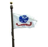 U S Wojsko flaga Zdjęcie Royalty Free