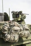 U S wojsko plecaki Zdjęcia Royalty Free