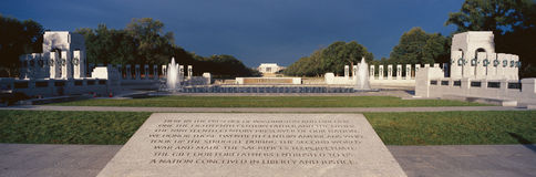 U.S. World War II Memorial Royalty Free Stock Image