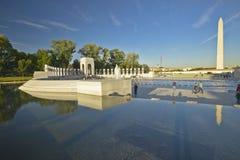 U.S. World War II Memorial commemorating World War II in Washington D.C. Stock Photography