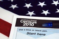 U.S. Zählung Lizenzfreie Stockfotografie