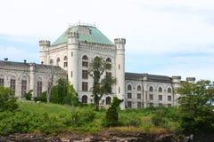 U.S. Zee Gevangenis in Portsmouth Royalty-vrije Stock Afbeeldingen