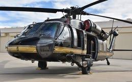 U S Zwyczaje UH-60 Blackhawk i patrol graniczny zdjęcia stock