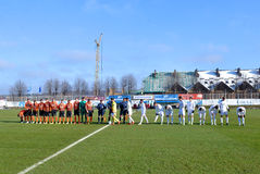 U-19. Shakhtar vs. Real Madrid. UEFA Champions league Stock Photos