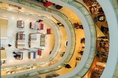 Unique design of a European department store stock image