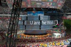 U sont le monde Photos libres de droits