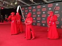 u. x27; Star Wars: Das letzte Jedi& x27; Weltpremiere Stockfotos