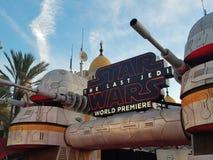 u. x27; Star Wars: Das letzte Jedi& x27; Weltpremiere Lizenzfreies Stockbild