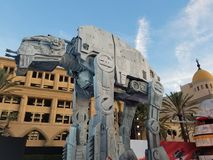 u. x27; Star Wars: Das letzte Jedi& x27; Weltpremiere Lizenzfreie Stockfotografie