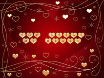 U steelt mijn hart 2 Royalty-vrije Stock Fotografie