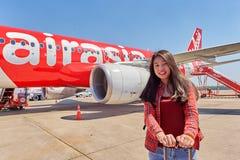 U-Tapao - aeroporto internacional de Pattaya Foto de Stock Royalty Free