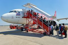 U-Tapao - aeroporto internacional de Pattaya Fotos de Stock