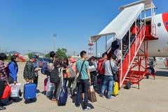 U-Tapao - aeroporto internacional de Pattaya Foto de Stock