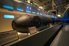 U-505 Torpedo at Museum of Science and Industry. Chicago, IL Stock Photos