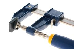 U-type screw clamp Royalty Free Stock Photography