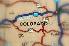 U van Colorado - van Verenigde Staten S Royalty-vrije Stock Foto's